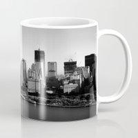 manhattan Mugs featuring Manhattan  by Zakvdboom Designs