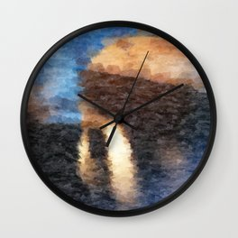 The Temple Wall Clock