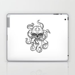 Lisa's Nightmare (B&W) Laptop & iPad Skin
