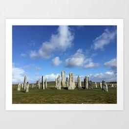 Ancient Stone Circle Art Print