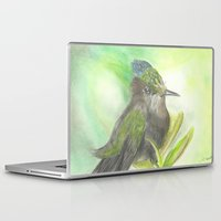 birdy Laptop & iPad Skins featuring Birdy by Equalsnine-art