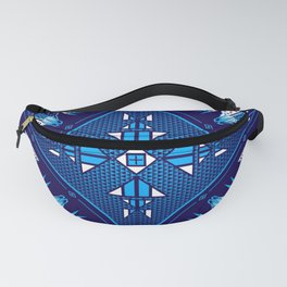 buffalo Gathering blue Fanny Pack