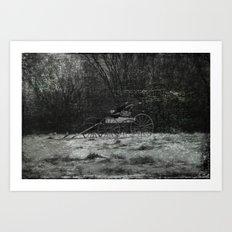 Forgotten Ride Art Print