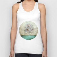 cherry blossom Tank Tops featuring Cherry Blossom  by aRTsKRATCHES
