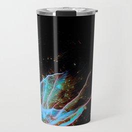 Blue Burst Travel Mug