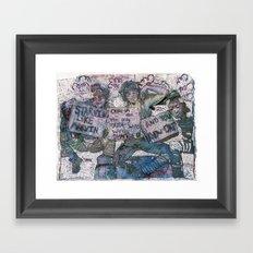 United States of Whatever Framed Art Print