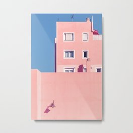 Sunny House And Blue Sky Metal Print