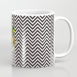 Hogwarts Logo Illusion Pattern Coffee Mug