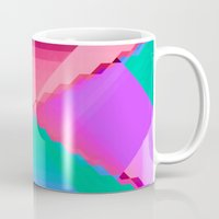 computer Mugs featuring Computer Dreams by Blank & Vøid