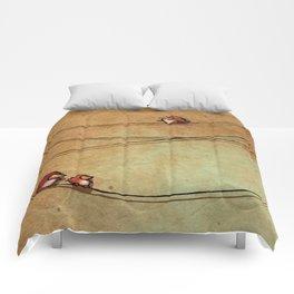 Rustic Bird Print, Country, Chic Look Comforters