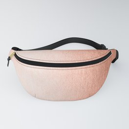 Simply Sweet Peach Coral Shimmer Fanny Pack