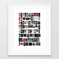 yowamushi pedal Framed Art Prints featuring Pedal Pusher by ▽▏ l○$t◭R3BE♑◬ H⊙mme◮