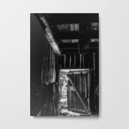 Did you Grow Up in a Barn Metal Print