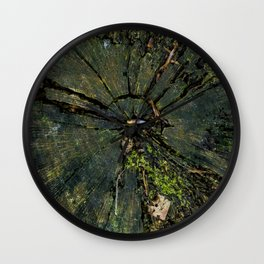 In the middle of the tree Wall Clock
