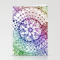 zen Stationery Cards featuring Zen by Alohalani