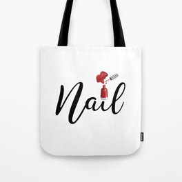 Nail Tote Bag