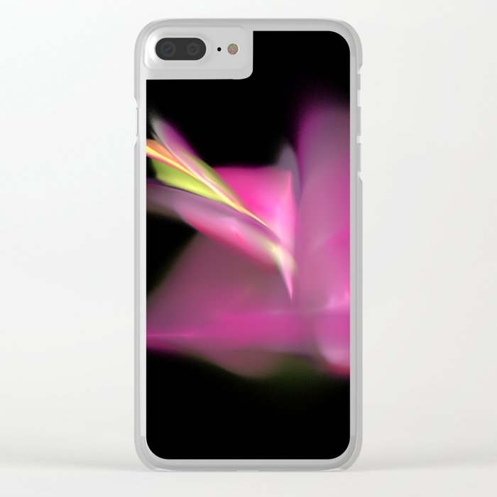 a flower is born   (A7 B0191) Clear iPhone Case