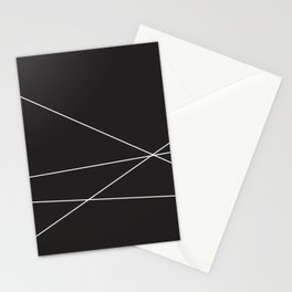 4 White Lines 2 Stationery Cards