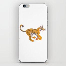 Running Bengal Tiger iPhone Skin