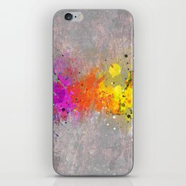 Colorsplash iPhone Skin