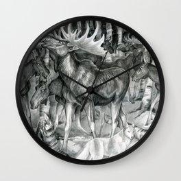 Ghost of Minong Wall Clock