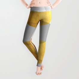 Abstract Golden Art XX Leggings