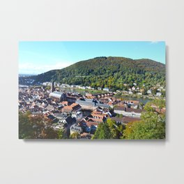 Heidelberg Overlook Metal Print