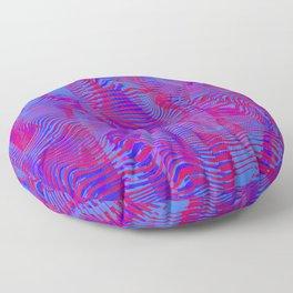 rippling bars Floor Pillow