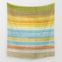 Colorbands Yellowstone Yellow Wall Tapestry