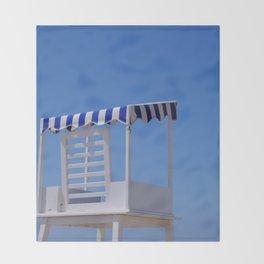Baywatch seat Throw Blanket