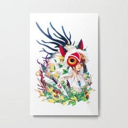 Mononoke Metal Print