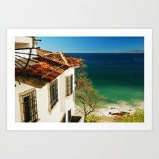 Puerto Vallarta, Mexico Art Print