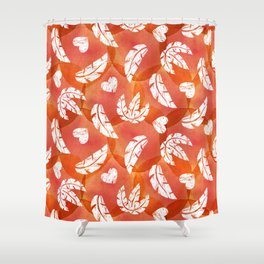 Wildly in love Shower Curtain