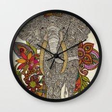 Walking in paradise Wall Clock