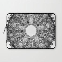 GEOMETRIC NATURE: SEA URCHIN w/b Laptop Sleeve