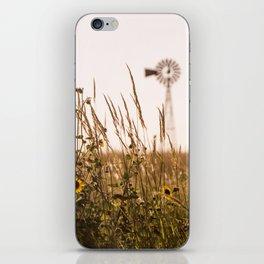 Sunflower Dreams & Windmill Memories... iPhone Skin