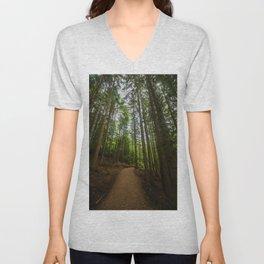 Green Forest Unisex V-Neck