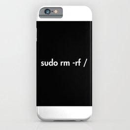 sudo rm -rf iPhone Case