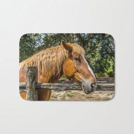 Brown Horse Bath Mat