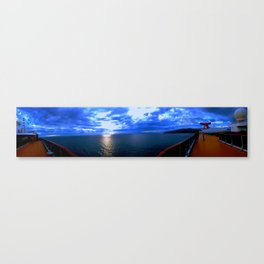 Panorama at Seas Canvas Print