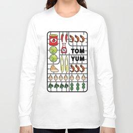 Tom Yum Assembly Kit Long Sleeve T-shirt