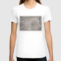 prague T-shirts featuring PAPERCUT - PRAGUE by Colin Kiss