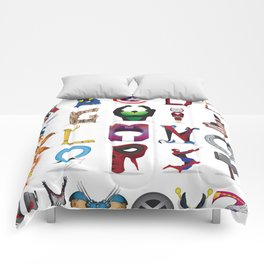 The ABC of the MCU - Vertical Comforters