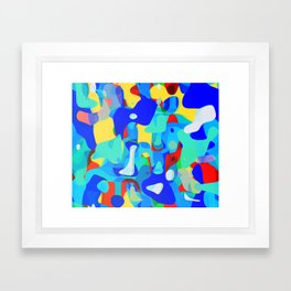 Meltdown Framed Art Print