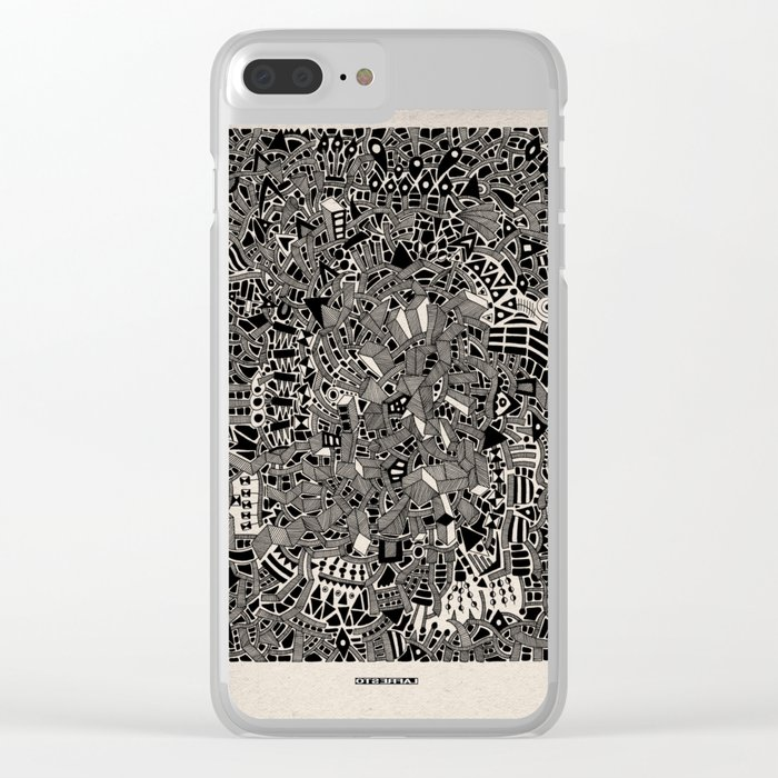 - blackout - Clear iPhone Case
