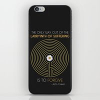 looking for alaska iPhone & iPod Skins featuring Looking For Alaska by Dani Aviles