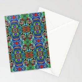 Blue, Orange, & Green Stationery Cards