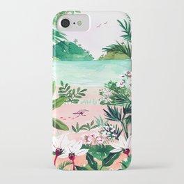 Seaside Meadow iPhone Case
