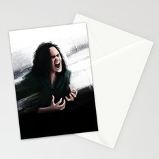 Trust my rage Stationery Cards