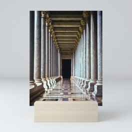 Colonnade 1 Mini Art Print
